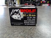 WOLF 20 ROUND 7.62X39 AMMO